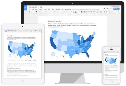 Correo electrónico de negocio de Gmail en cualquier dispositivo